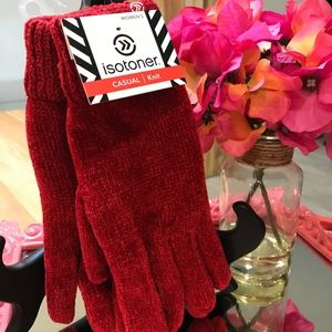 Isotoner Casual Knit Gloves-NWT